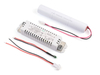 Down light LED emergency conversion kit with 3.6V Battery