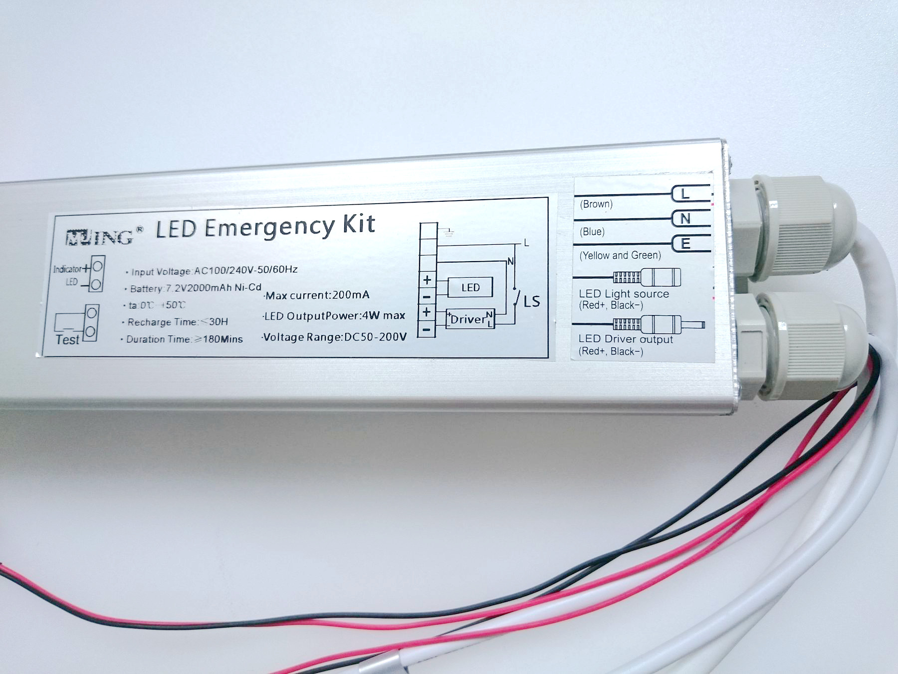 PANEL LED EMERGENCY PACK