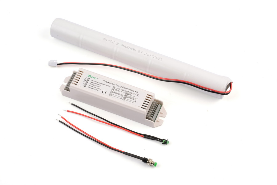 Traditional fluorescent tube 3 hours Emergency kits