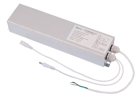 Newest developed products 40w ul battery backup led panel light emergency kit