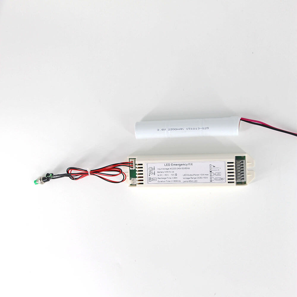 Ni-cd 3.6V /Li-on 3.7V Battery Backup LED Emergency Power Supply
