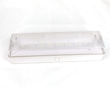 CE Fire-Retardant ABS Casing Bulkhead light with Ni-cd Batteries