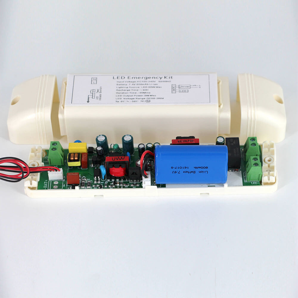 DC50-200V 5W 1H Emergency Lighting Conversion Kit